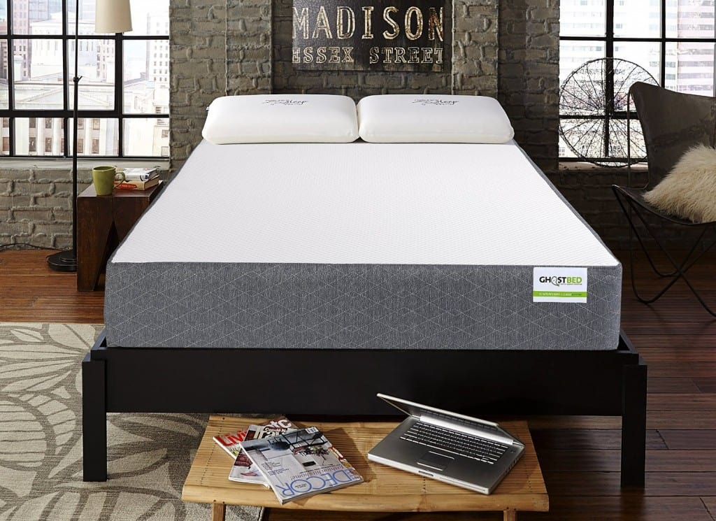 if have lower back pain, try ghostbed mattress