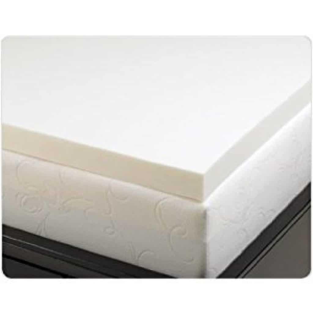 best memory foam mattress topper 2018 get best mattress. Black Bedroom Furniture Sets. Home Design Ideas