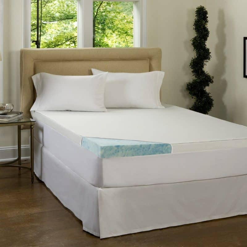 Simmons Beautyrest 3-inch Gel Memory Foam Mattress Topper