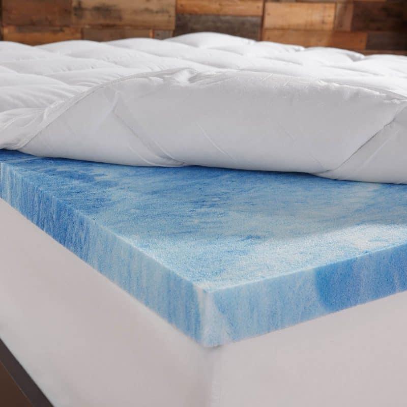 Sleep Innovations 4-Inch Dual Layer Mattress Topper