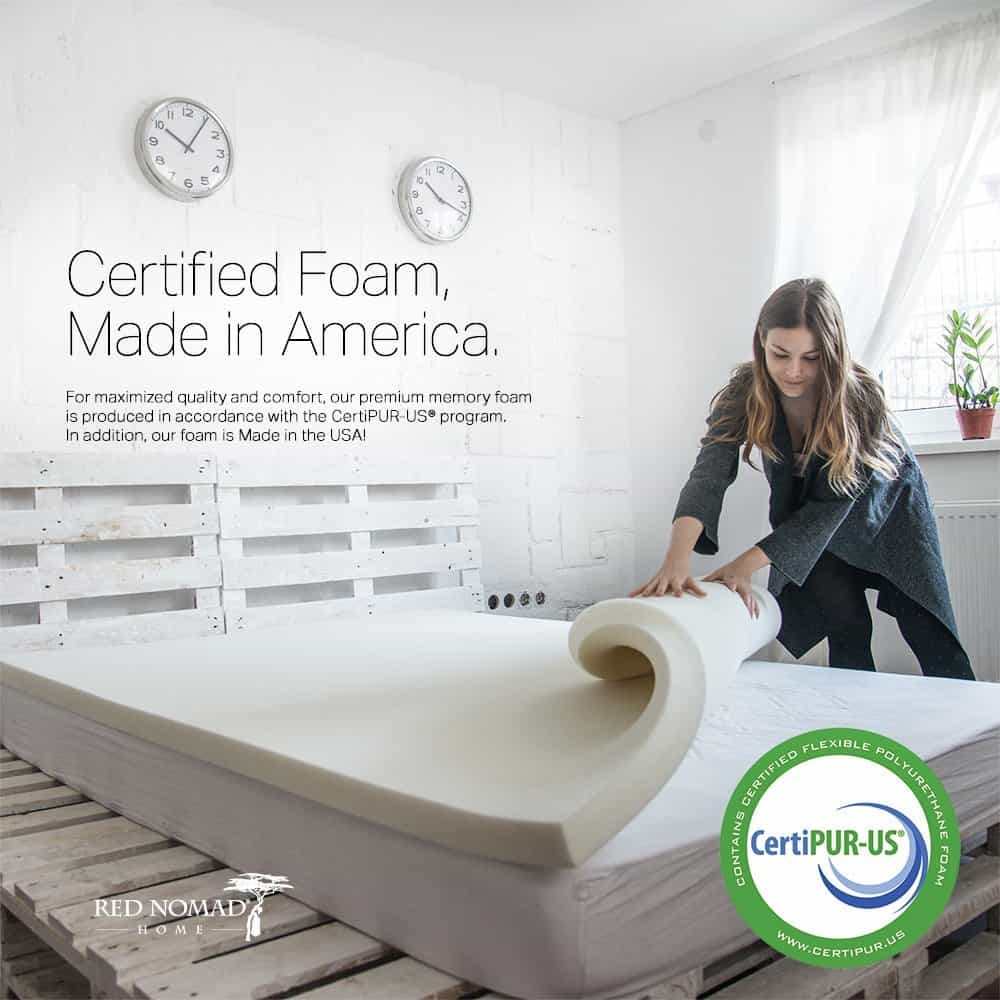 Best Memory Foam Mattress Topper 2019 Get Best Mattress