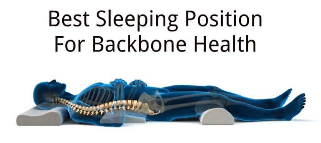 best sleeping position for back sleepers