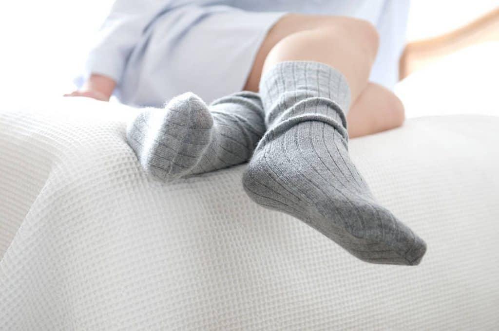 Wear socks to bed