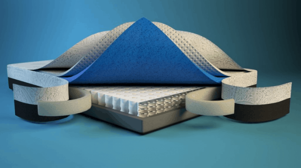structure of amore mattress