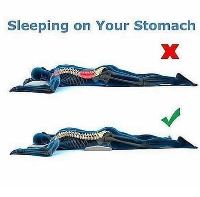 sleep on your stomach