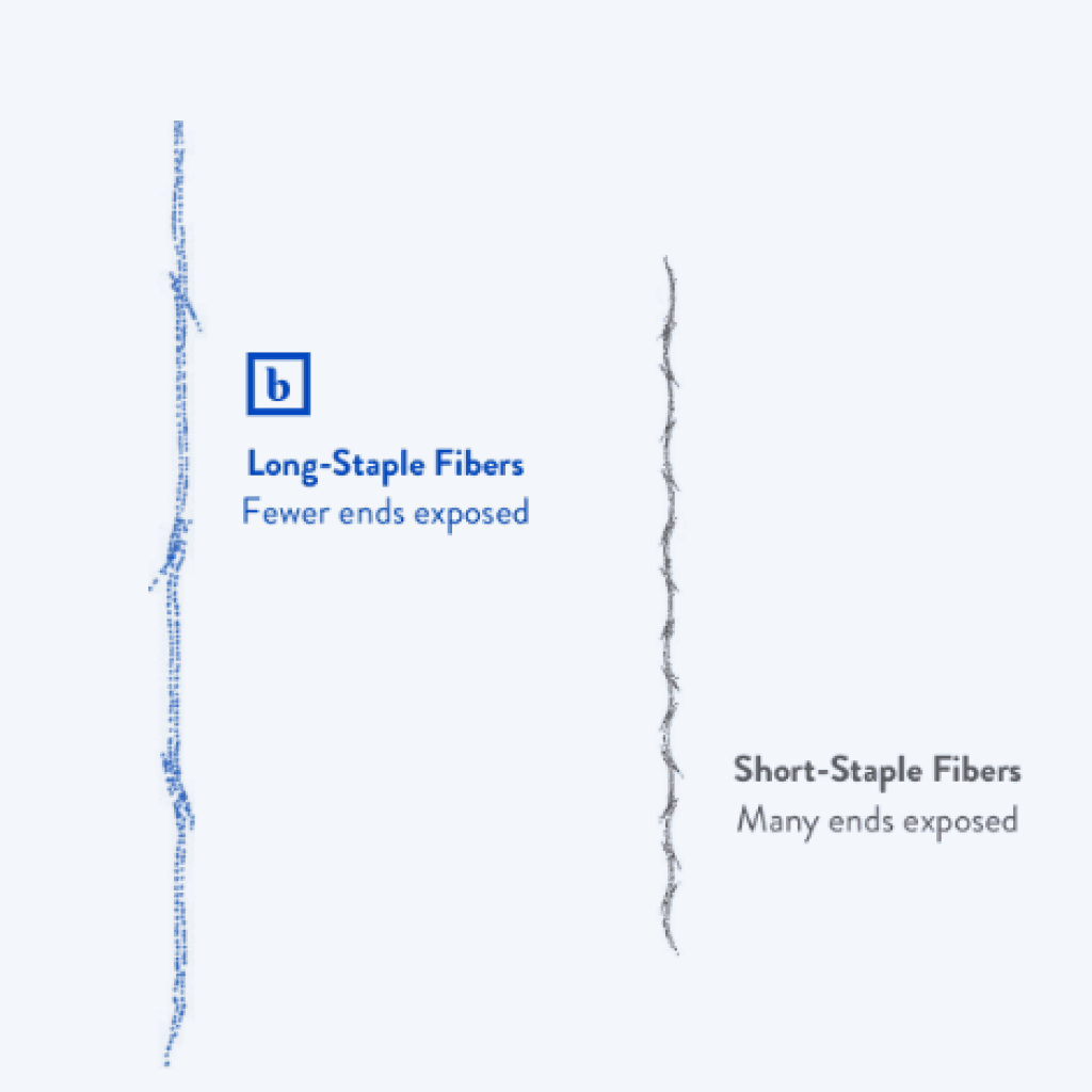 staple fibers