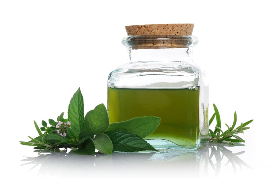 Peppermint Oil and Goldenseal