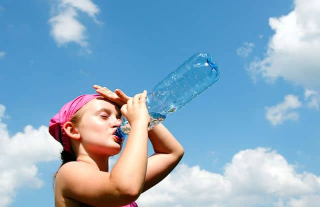 Stay well hydrated