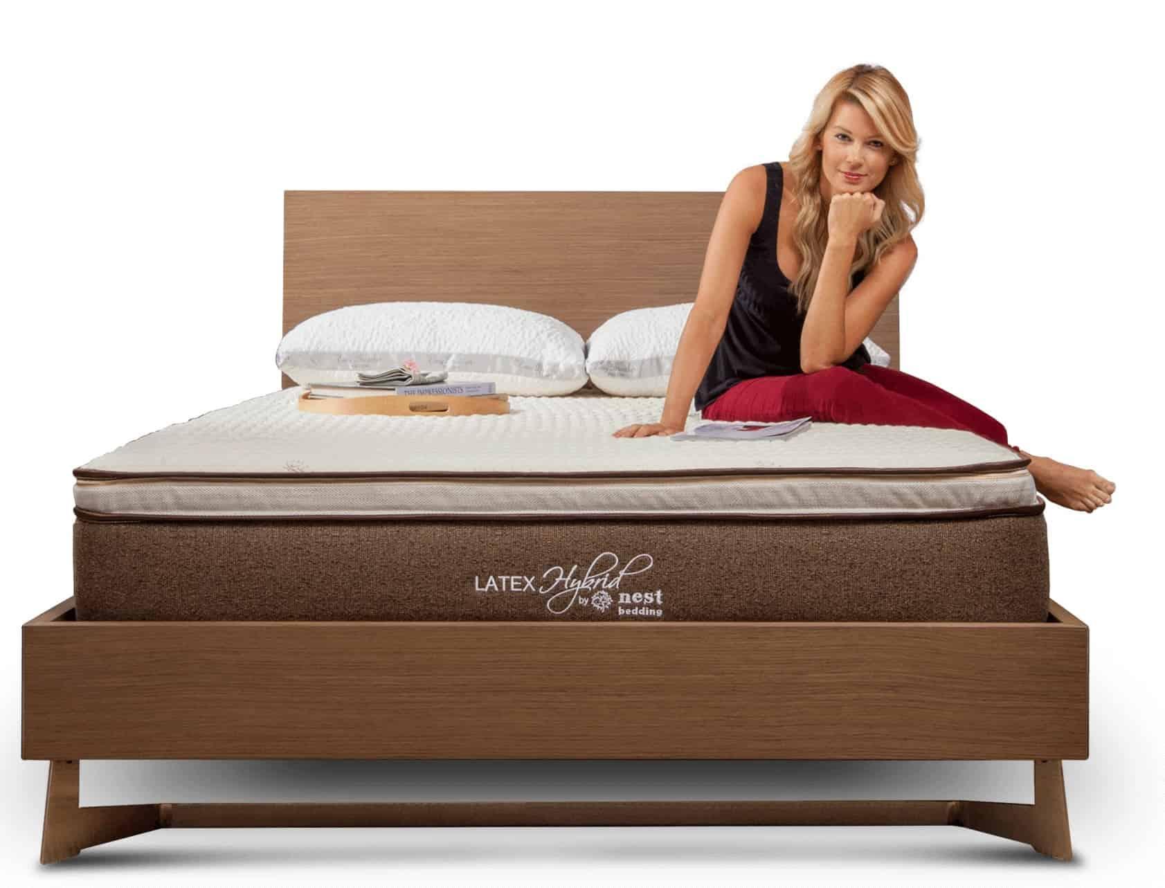 hybrid latex mattress of nest
