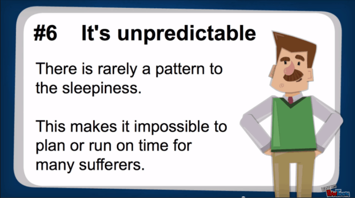 it's unpredictable