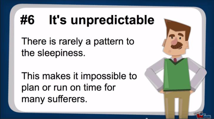 it's unpredictable