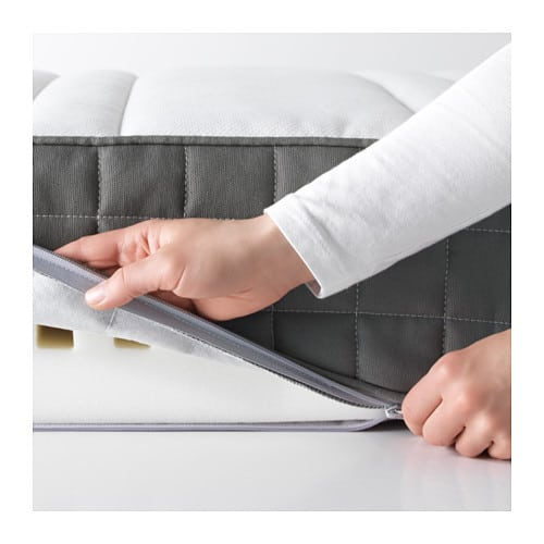 Cooling effect of Ikea morgedal mattress