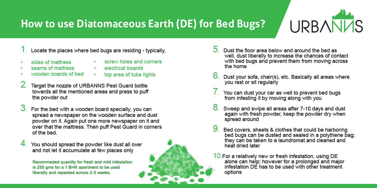 Diatomaceous Earth Dust Powder