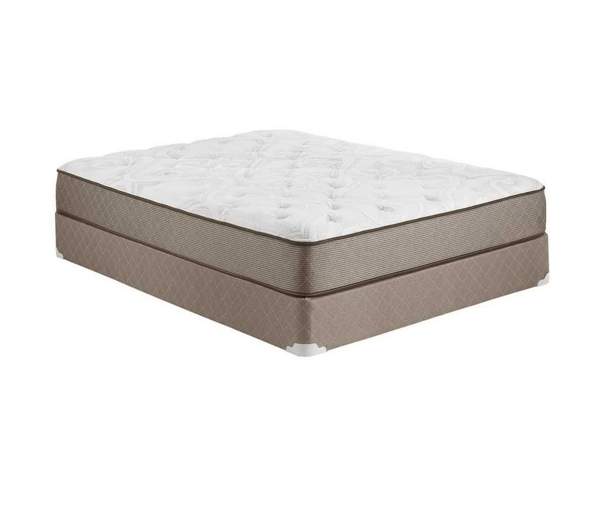 Hampton and Rhodes 10.75 inches Plush Gel Infused Visco-Foam Core Mattress