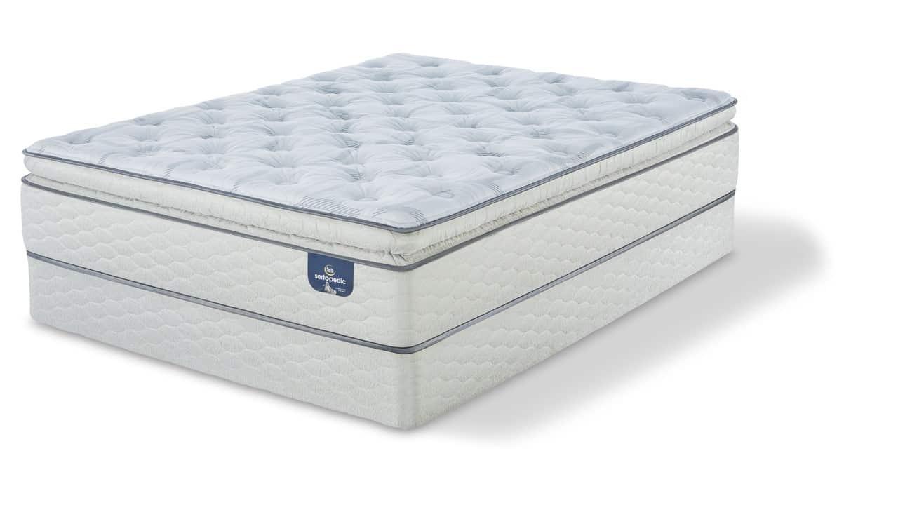 Serta Sertapedic Carterson Super Pillow Top Plush Mattress