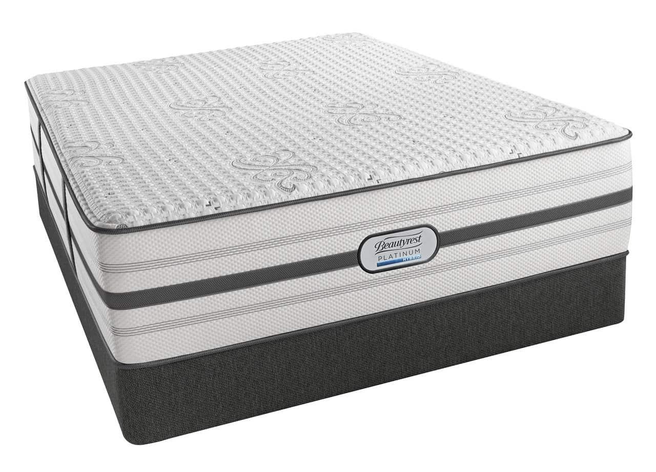 Simmons BeautyRest Platinum Hybrid Quinn Ultra Plush Mattress