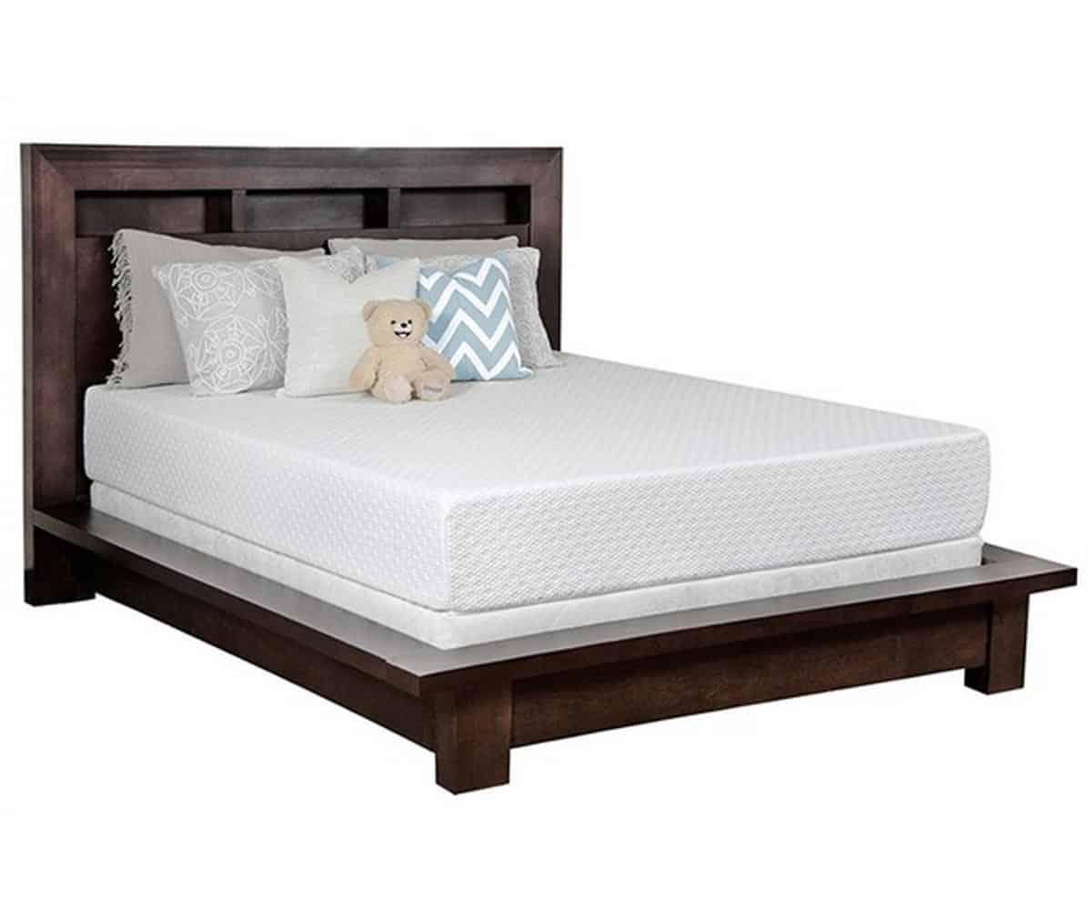 Snuggle Home 10 inches Gel Memory Foam Mattress