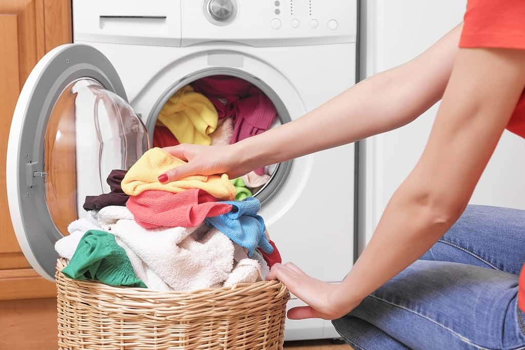 use a clothes dryer on high temperature