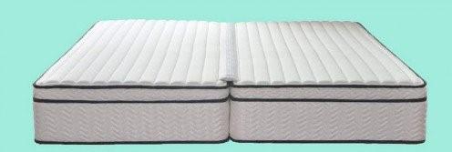 split queen size bed