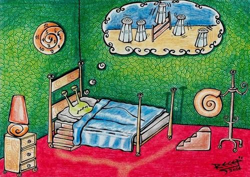 Snails love to sleep