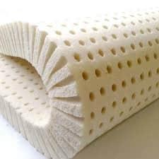 Synthetic latex foam