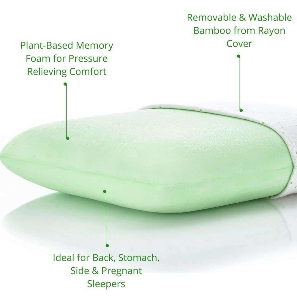 pros or advantage of plant based memory foam