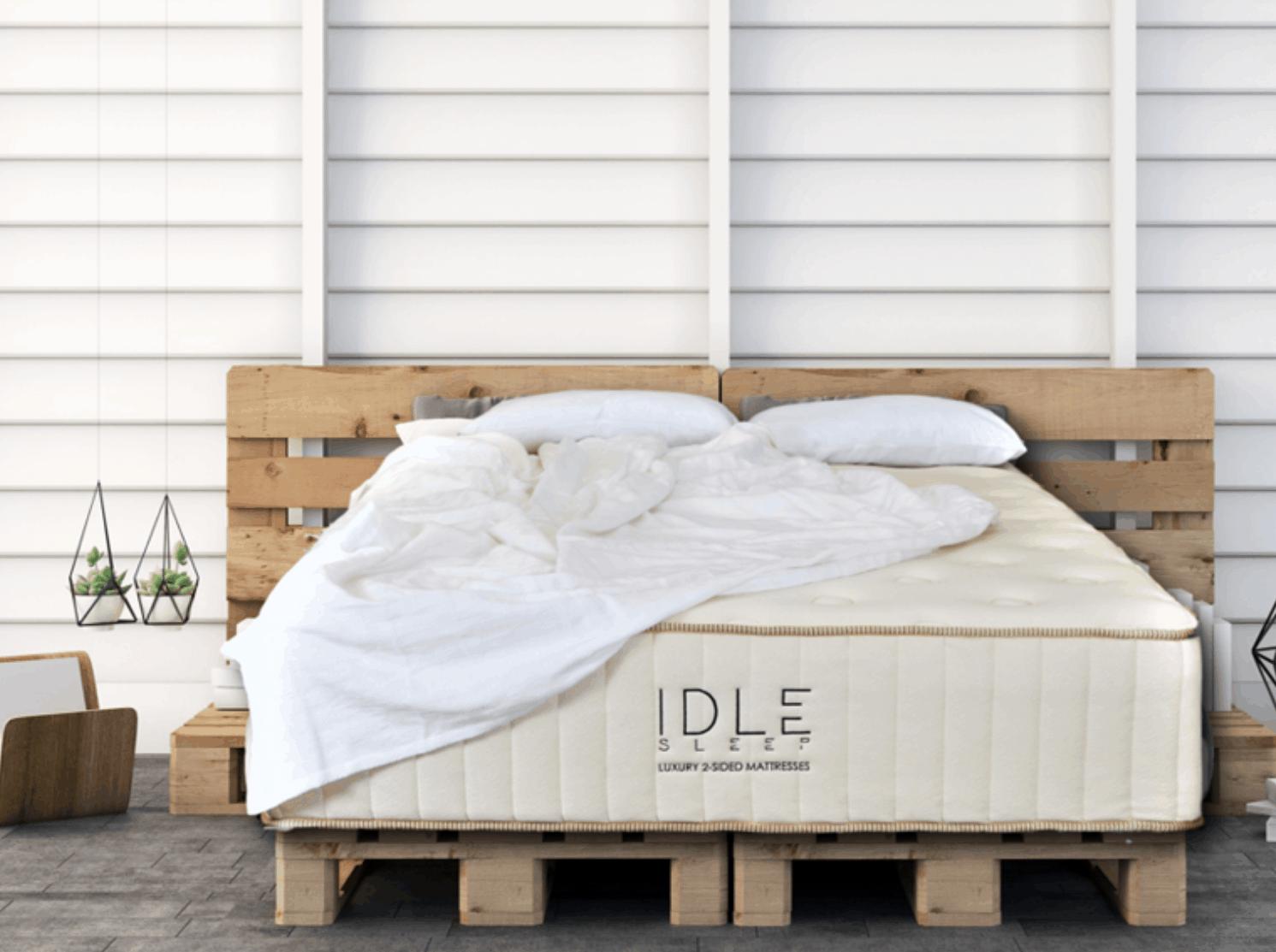 Idle Sleep Latex Hybrid Mattress Review(14″)