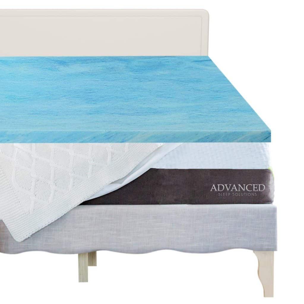 Advanced Sleep Solutions Gel Memory Foam Mattress