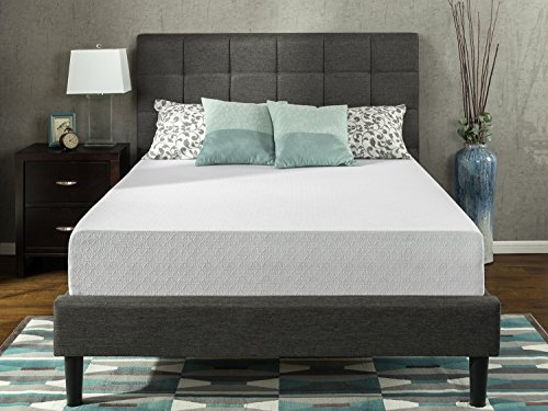 Zinus Gel-Infused Green Tea 12 Inch Memory Foam Mattress