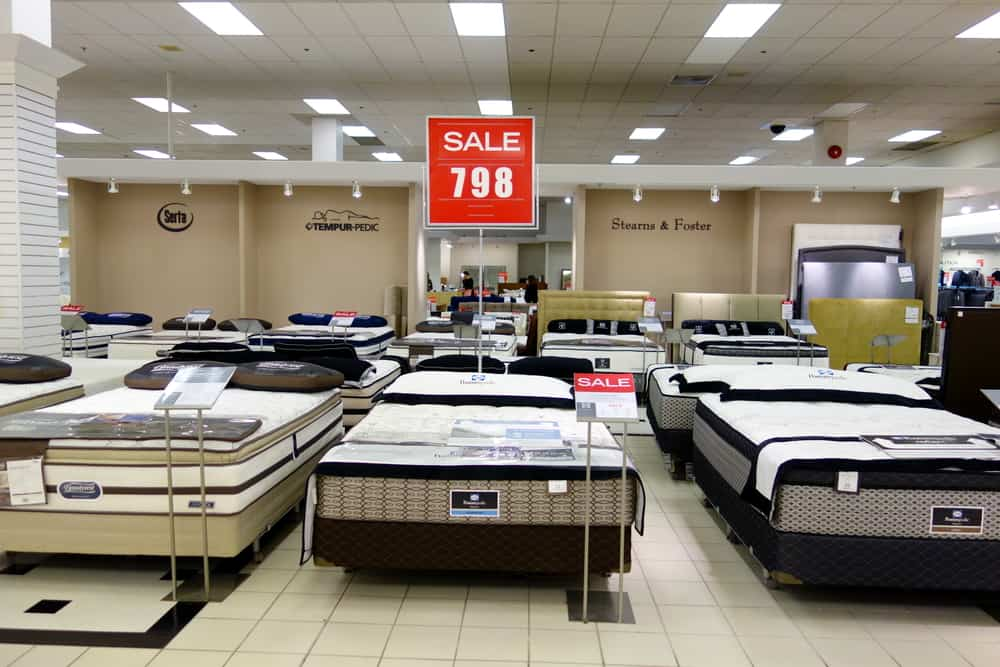 buy mattress online or from stores
