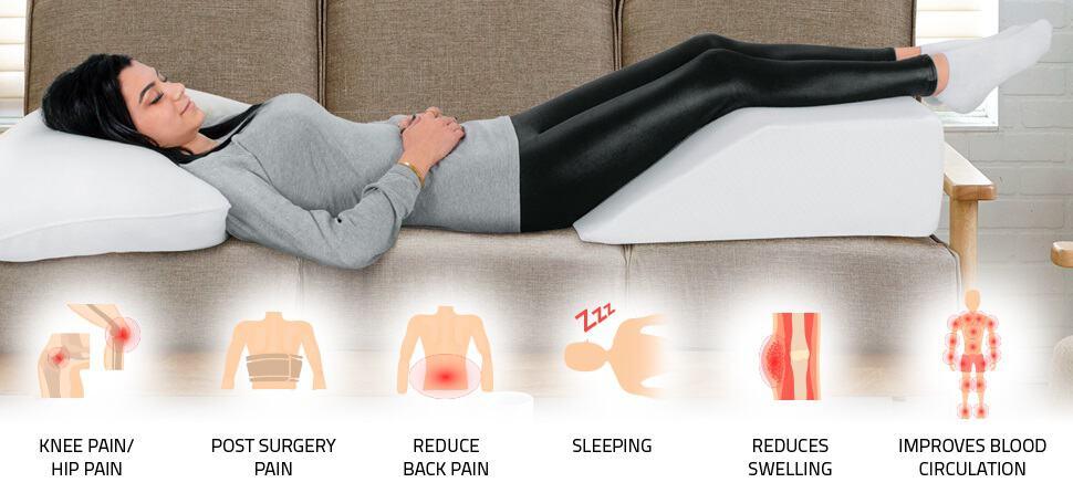 Elevating the knees sleep