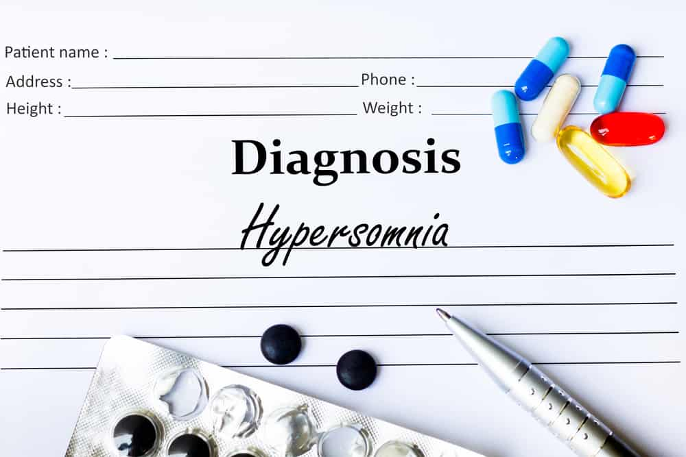 Hypersomnia and general mood disorders