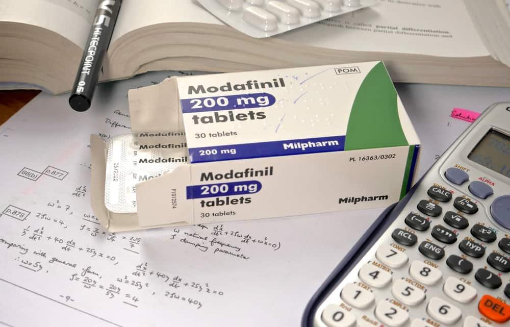 Modafinil smart drug pills on engineering books