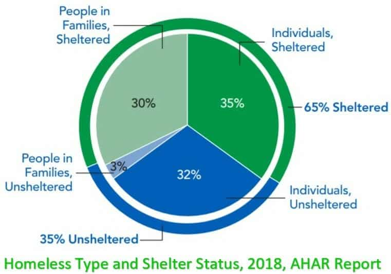 homeless type and shlter status 2018