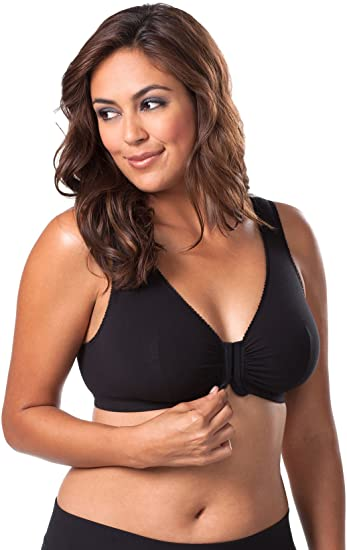 Leading Lady Plus Size Sleep Cotton Bra