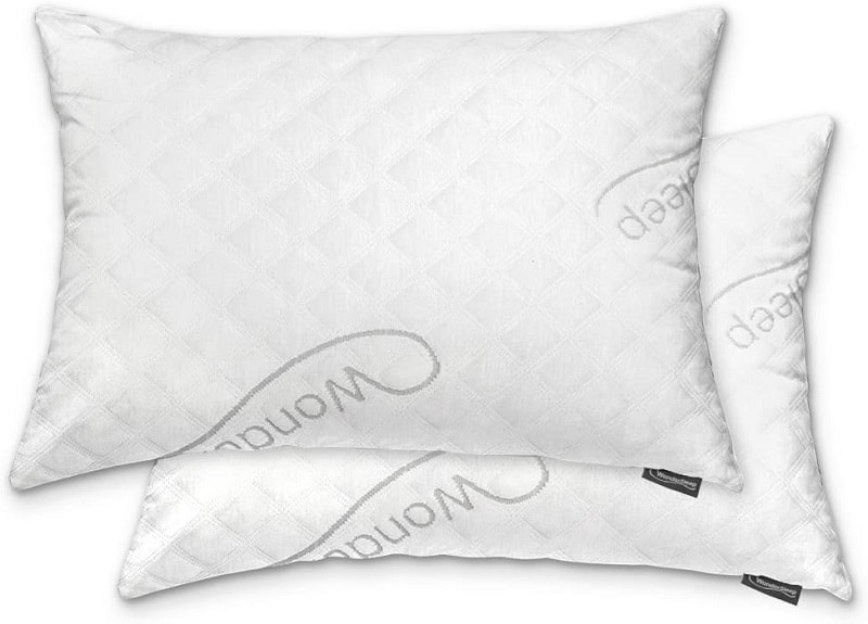 WonderSleep Premium Adjustable Shredded Memory Foam Pillow