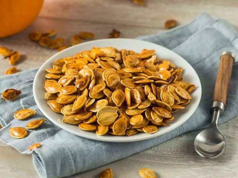 Pumpkin seeds help sleep